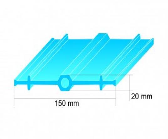 PVC WATERSTOP C 150